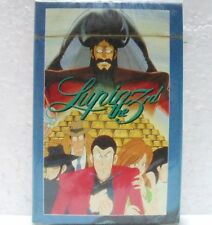 Lupin III - mazzo carte da poker sigillato - International Comics