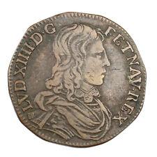 Jeton de Compte en Cuivre Louis XIV Les Coeurs fidèles vers 231642 Token France