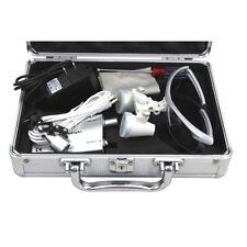 Dental Medical Surgical Binocular Loupes Optical Glass Loupe 25x 420 Metal Case
