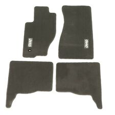 05-10 Jeep Grand Cherokee & 06-10 Jeep Commander Dark Khaki Carpet Floor Mats OE
