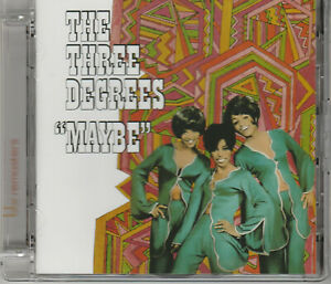 "CD  THE THREE DEGREES :  "" MAYBE """