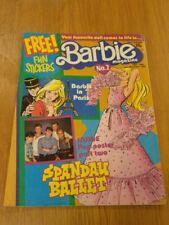 BARBIE #2 15TH-28TH NOVEMBER 1985 IPC BRITISH WEEKLY^