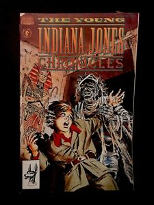 Indiana Jones™ COMIC BOOK Cairo Egypt RARE VINTAGE Dark Horse Issue