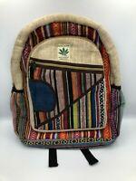 Himalayan Group All Natural Handmade Multi Pocket Pure Hemp Laptop Backpack