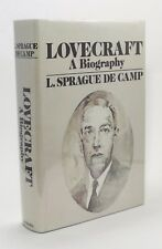 H P Lovecraft A Biography L Sprague de Camp Vtg Signed Book First Edition 1975