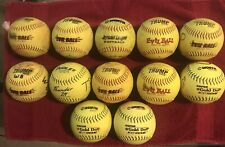 Used 12 Inch Softballs.