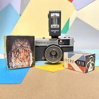The OLYMPUS Trip 35 Camera & Flash Guaranteed Retro,Lomo,Vintage, Film Tested!