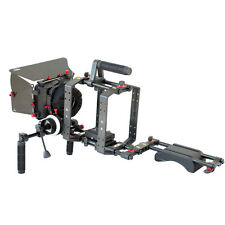 Filmcity Pro DSLR Shoulder Mount Support Rig Kit Handgrip for Camera Camcorder