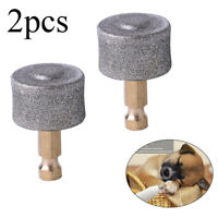 2 Pack Pet Nail Grinders Replacement Heads Grinding Head For Pet Dog Cat