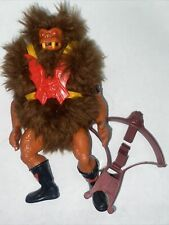 Mattel Vintage He-Man GRIZZLOR Figure Masters of the Universe Motu 1985 complete