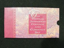 1993 Thomas Jefferson Coinage and Currency Set