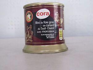 Cora Bloc de foie gras de cancard - Entenleber mit Stücken 200 g Aktion