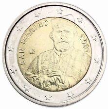 San Marino 2 Euro 2007 Giuseppe Garibaldi Gedenkmünze im Folder