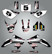 Full  Custom Graphic  Kit - Safari - Honda CRF 50 - 2004 - 2015