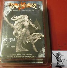 Raging Heroes 20263 Skaryaa the Blood Mistress Female Dark Elf Warrior Hero Lord