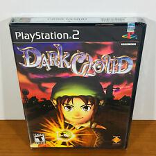 Dark Cloud (PS2) Rare 1st Print! Black Label! Sealed. Near-Mint!
