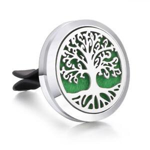 Car Essential Oil Diffuser Vent Clip Air Freshener Aromatherapy Locket