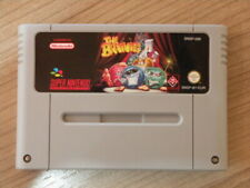 Super Nintendo Game * THE BRAINIES * Retro Rare SNES