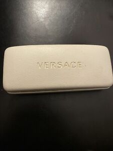 mens versace eye glasses black gold stamped Special Edition