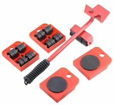 Furniture Lifter Slides Move Roller Tools Max 330LBS 360 Rotation Pad 5 pcs Set