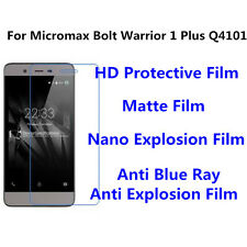 3pcs For Micromax Bolt Warrior 1 Plus High Clear/Nano Explosion Screen Protector