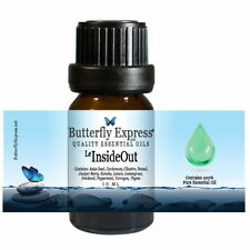 InsideOut Blend Essential Oil 100% Pure helps flu food poisoning nausea cramps