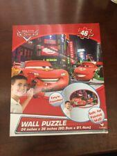 Disney Pixar Cars Movie Wall Puzzle New 24x36 46 Pieces