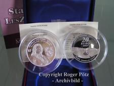 20 Once Argent 2007 Stanislas Leszczynski Pp Seulement 500 Exemplaires Edition