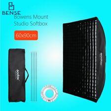 Godox 60*90cm Grid Honeycomb Softbox Bowens Mount for Studio Strobe Flash Light