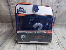 LONSDALE BARN BURNER HEADGUARD WITH CHEEK BNIP TRAINING SPARRING LARGE BOXING
