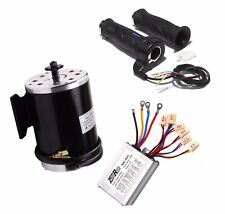 1000W 48V DC Electric Brushed Motor Kit w Base Speed Controller Throttle Scooter