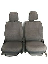 Land Rover Defender front seats (pair) in original Techno cloth from 90 County