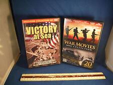 Victory At Sea & War Movies DVD Sets