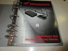 HONDA PGM-F1 PINOUT BOX TROUBLE-SHOOTING MANUAL 1998-2004