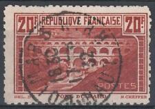 "FRANCE STAMP TIMBRE N°262B ""PONT DU GARD 20F DENTELE 11 "" OBLITERE A VOIR  M254"