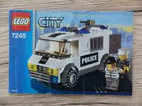 Notice LEGO CITY police Manuels d'instructions montage réf : 7245
