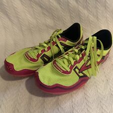 Brooks Track Spike Womens Shoes 7.5 PR MD 54.26 Pink Green