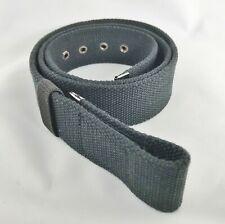 Snap On Style Cloth Belt Vegan Add A Buckle