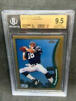 1998 Topps Chrome #165 Peyton Manning BGS 9.5 Gem Mint RC Colts Broncos