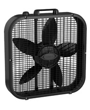 New 20 Inch Box Fan 3 Speed Portable Cooling Air Circulation Breeze Airflow
