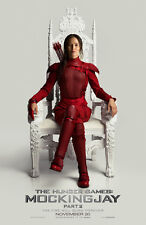 HUNGER GAMES MOCKINGJAY PART 2 MOVIE POSTER 1 Sided ORIGINAL KATNISS RED 27x40