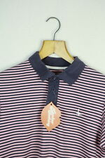 Vintage Jack Wills Polo Homme Small Urban Sailor à rayures Slim Casual P45