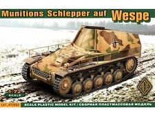 1/72 WWI German Munitions Schlepper with Wespe Ammo Carrier ACE72502 Models kits