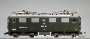 Bemo HOe Schmalspur Bahn RhB Silvretta Electric Locomotive Code 181