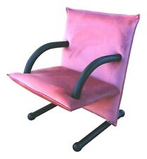 Armchair Arflex Model T-Line Design burkhard Vogtherr Years 80 Vintage - Pink