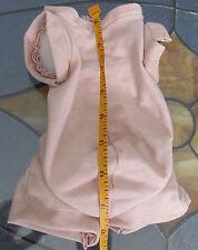 "Doe Suede Cloth Body for Reborn Doll Full Arms 3/4 Legs 20"" Slender Doll"