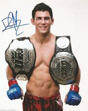 UFC Ultimate Fighting Dominick Cruz Autographed Signed 8x10 Photo COA Belts