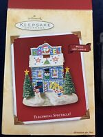 Hallmark Keepsake Magic Ornament 2004 Electrical Spectacle - Tested & Working!