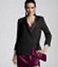 NWT H&M 2011 Conscious Collection Wraparound Black Blazer With Tie