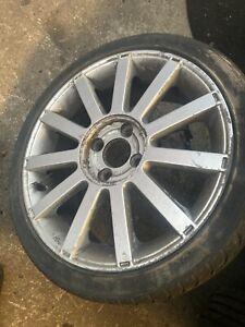 Ford fiesta st 150 alloy wheel 205/40r17 17 inch 2mm tread 2002 - 08 mk6